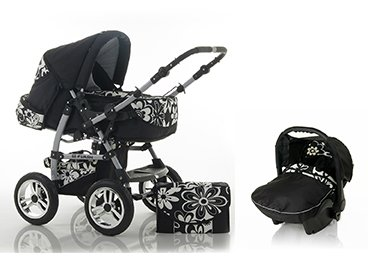 BRAND NEW 3 in 1 Travelsystem pram + pushchair + car seat