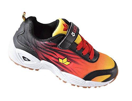 Lico Ben vs rosso oro nero Germania-Scarpe da ginnastica scarpe da ginnastica, Blu (blu), 25