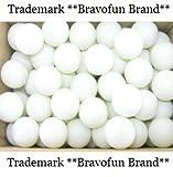 Larkin Plastic Beer Pong Balls / Craft Balls 144pc 38mm Frat Party Balls for Beer Pong Washable