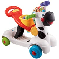 VTech 3 in 1 Walker Baby Toddler Zebra Scooter