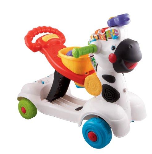 VTech Baby - 3 en 1 Zebra Scooter - Trottino Mon Zèbre Rigolo