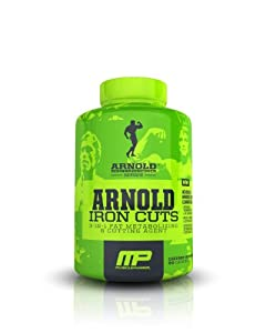 Muscle Pharm Arnold Schwarzenegger Series Iron Cuts Fat Metabolizing & Cutting Agent, 90 Count