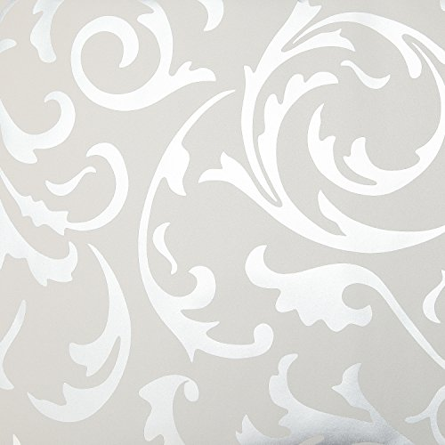 Toprate Emboss Textured Pattern Wallpaper Decal, 394 by 21-Inch (Decal Wallpaper compare prices)