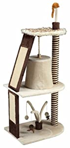 Gor Pets Tower Scratching Post, 144 cm, Brown