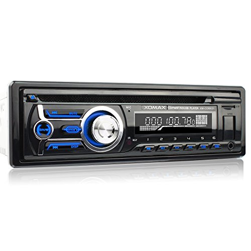 xomax xm cdb621 autoradio mit cd player bluetooth. Black Bedroom Furniture Sets. Home Design Ideas