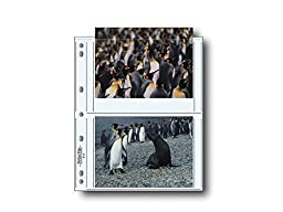 Print File 57-4P 5x7in. Photo Pages (25 pack) by Print File by Print File
