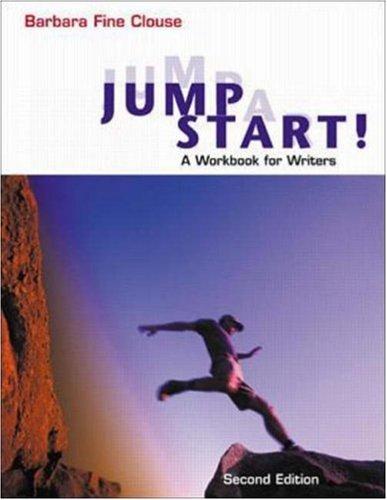 Jumpstart! A Workbook for Writers