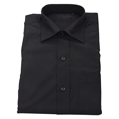 Double F Men cotton Dark Grey formal shirts