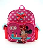 Minnie Mouse - 12 Toddler Size Backpack - Make Up
