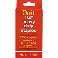Do it Best Global Sourcing 346753 Do it No. 4 Staples-1/4