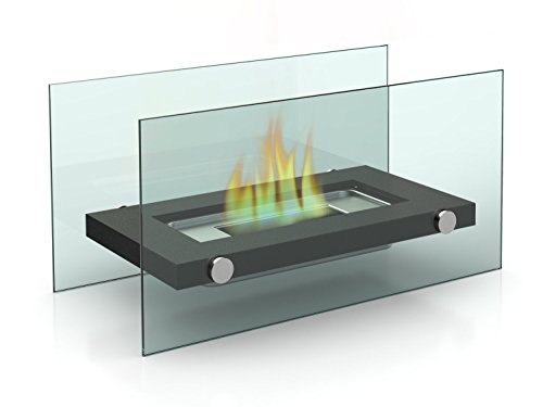 Designer's All Season Table Top Ethanol Fireplace, Both Indoor and Outdoor Use (Ventless Fireplace Ethanol compare prices)