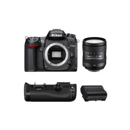 D7000 Reflex Numerique + Objectif AF-SDX 16-85mm 3,5-5,6G ED VR GARANTI 4 ANS + Grip MBD11 + Batt...
