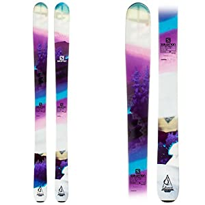 Buy Salomon Quest-96 Lumen Ladies Skis 2014 by Salomon