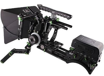 Sunwin BlackMagic Camera Cage Kit Professional BMCC DSLR Rig 5D2 Power Supply