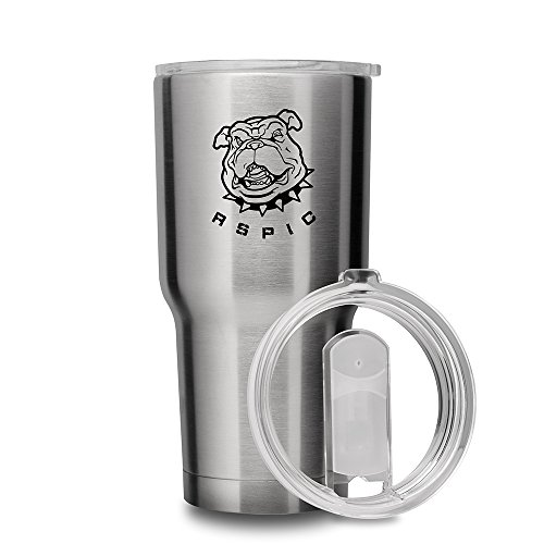 [30 Oz Tumbler] RSPIC Coolers Double Wall Vacuum Insulated Tumbler Cups Stainless Steel Travel Tumbler Rambler 30oz Coffee Mug with Lid - Keeps Drinks Cold and Hot (30 Oz)