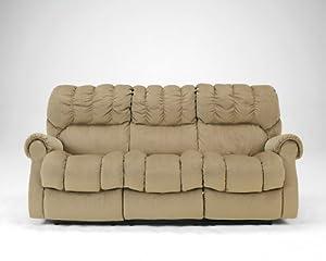 Amazon Mocha Reclining Sofa Signature Design by