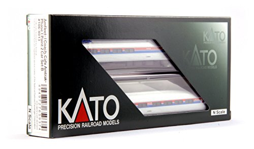 kato-usa-model-train-products-n-amfleet-i-coach-cafac-amtrak-phase-i-set-b-2-car-train-set
