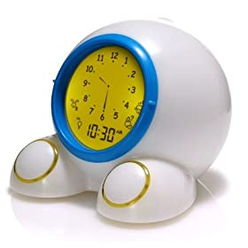 Teach Me Time! Talking Alarm Clock & Nightlight by American Innovative