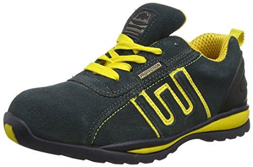 Groundwork Gr86 Scarpe Unisex Adulto, Colore Blu (Navy/ Yellow), Taglia 42 EU (  8 UK  )