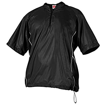 Rawlings Boys' Ysbj Youth Short Sleeve Pullover Jacket(Royal, Medium)