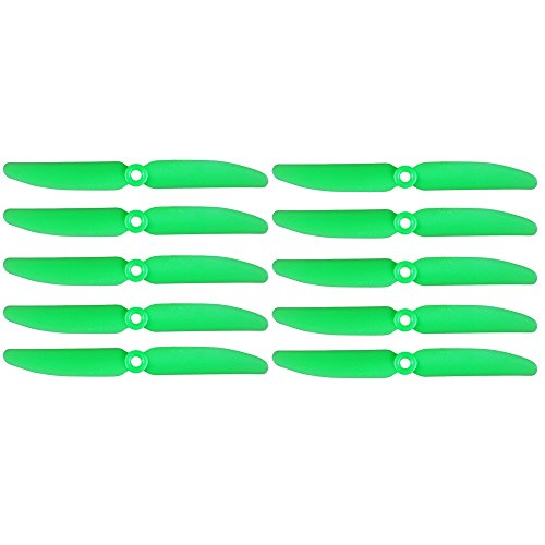 10PCS ARRIS 5x3 Inch Plastic 2-Blade 5030 Negative Propeller for 250 Mini Quadcopter Green (CCW)