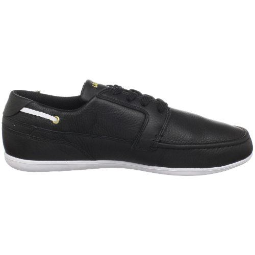 Lacoste Men's Dreyfus Ap Spm Lace-Up Sneaker,Black/Gold,9 M US