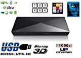 Sony BDPS4200B.CEK - BDPS4200B.CEK Smart 3D Blu Ray Player - Blu Ray PlayerBlack USB - Yes
