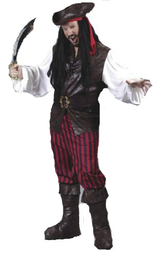 High Seas Male Buccaneer Adult Adult Mens Costume