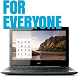 """Acer C7 Chromebook 11.6"""" Intel Dual Core B847 1.1 GHz 2GB DDR3 320GB 5400RPM HDD Wifi HDMI USB3.0 VGA Card Reader"""