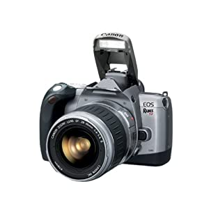 Canon Rebel T2 35mm SLR Camera with the EF 28-90mm f/4-5.6 III Zoom Lens