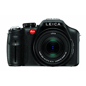 Leica V-LUX 3 CMOS Camera with 12.1MP and 24x Super Telephoto Zoom