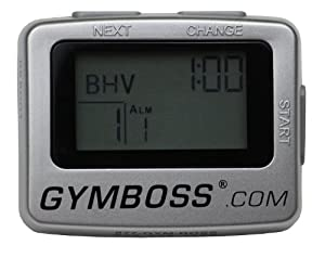 Gymboss Interval Timer & Stopwatch GB2010 SILVER