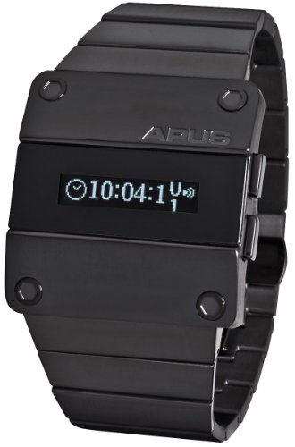APUS Beta Solid White OLED Watch for Him Second Time Zone