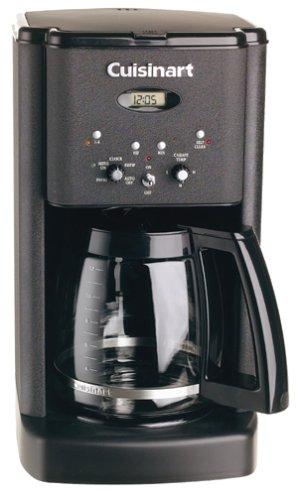 Cuisinart Coffee Maker Matte Black : Cuisinart DCC