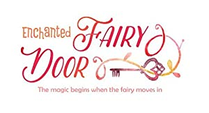 Enchanted Fairy Door Mailbox and Magic Dust Gift Set Tooth Fairy or Elf