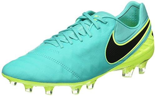Nike Uomo Tiempo Legend Vi Fg scarpe da calcio verde Size: 42
