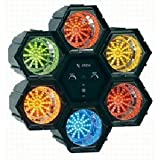 X4-Tech Disco Dream 6 LED-Lichtorgel mit 6 Farben