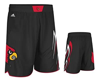 Buy Louisville Cardinals Black 2013-14 Adidas Point Guard Swingman Shorts by Unknown