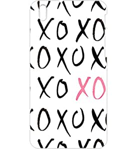 a AND b Designer Printed Mobile Back Cover / Back Case For HTC Desire 816 (HTC_816_3D_3219)