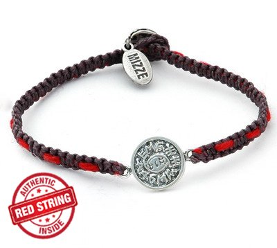 Against Evil Eye Solomon Seal & Authentic Red String Inside Charm Bracelet