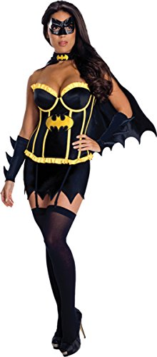 Rubie's Costume Co Women's Deluxe Batgirl Costume, Medium