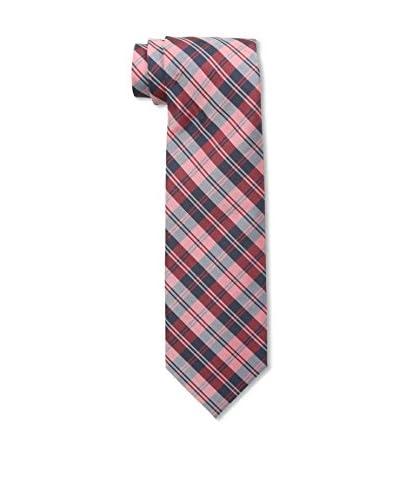 Little Black Tie Men's School Plaid Tie with Tie Bar