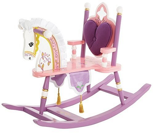 Levels of Discovery Kiddie-Ups Princess Rocking Horse - 1