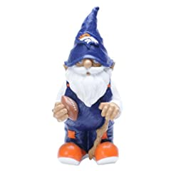 NFL Denver Broncos Garden Gnome by Forever Collectibles