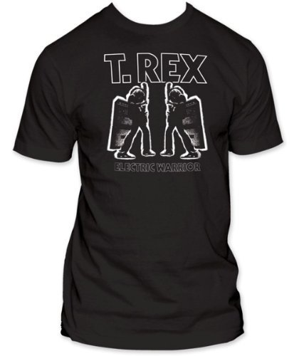 Old Glory Mens T Rex - Duplicity Soft T-Shirt - X-Large Black