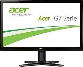 Acer G277HLbid 69 cm (27 Zoll) Monitor (VGA, DVI, HDMI, Full HD, 4 ms Reaktionszeit, EEK A) schwarz