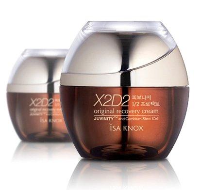 Korean Cosmetics, Lg Household & Health Care _ Isa Knox, X2D2 Original Recovery Cream 50Ml (Anti-Aging, Nutrition, Moisture, Elasticity) [001Kr]
