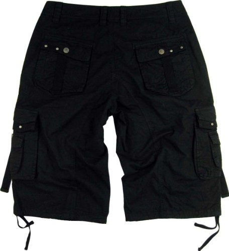 mens black cargo shorts military a8s size44 apparel