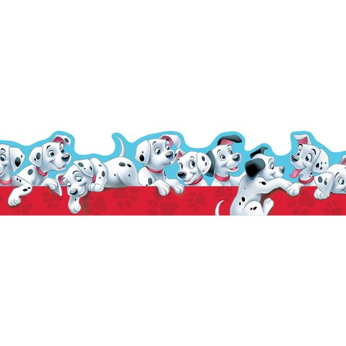 Eureka 101 Dalmatians Puppies Extra Wide Cut Deco Trim - 1