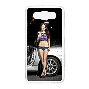 a AND b Designer Printed Mobile Back Cover / Back Case For Samsung Galaxy E7 (SG_E7_2171)